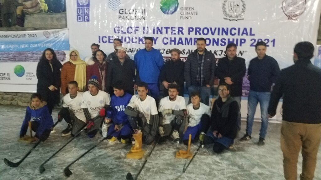 Altit ice Hocky under projet of Glof 2