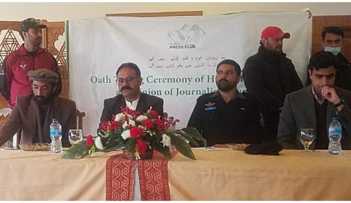 Fatah Ullah Khan Minister Information Gilgit-Baltistan