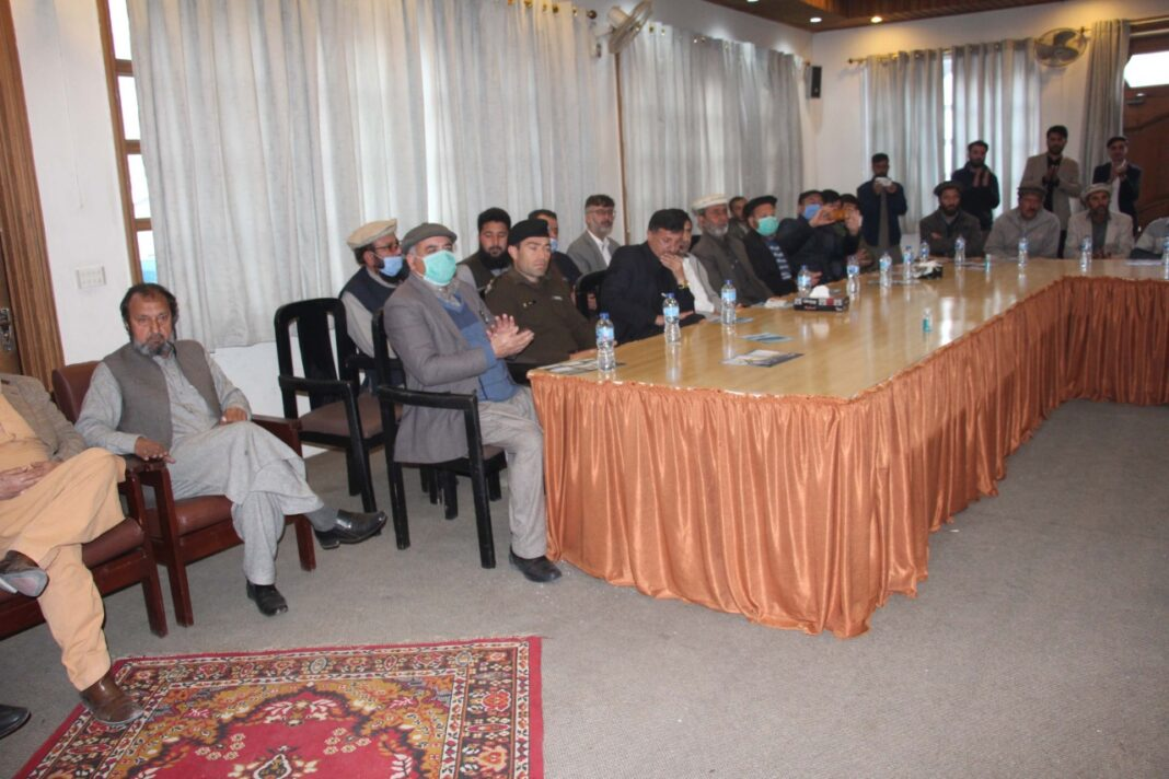 condolence ceremony was held at a local hotel in Chitral to pay homage to renowned mountaineer Muhammad Ali Sadpara. The event was named after Muhammad Ali Sadpara in which his services in promoting tourism in Pakistan were appreciated by lighting candles in his memory.